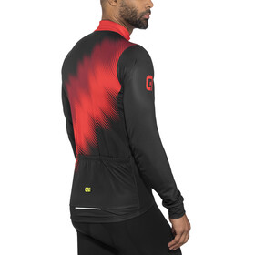 Alé Cycling Solid Pulse Longsleeve Jersey Men black-bordeaux-red